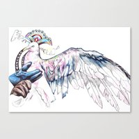 Like soaring through the heavens  Canvas Print