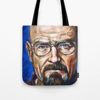 Walter White Breaking Ba… Tote Bag