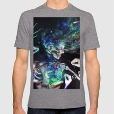 Star Dust Stitching Colo… Mens Fitted Tee Tri-Grey SMALL