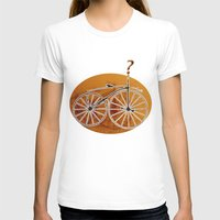 bike T-shirts featuring Bike by CrismanArt