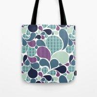 Sea pattern Tote Bag
