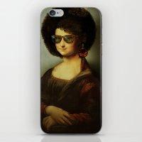 Mona Lisa Boogie iPhone & iPod Skin