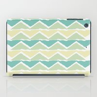 ocean triangles iPad Case