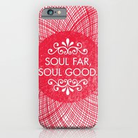 iPhone & iPod Case featuring Soul Far, Soul Good. by Nick Nelson