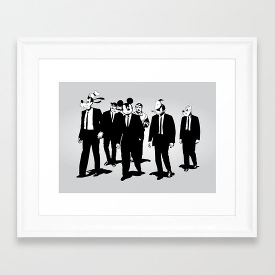 Walt's Protection Crew Framed Art Print