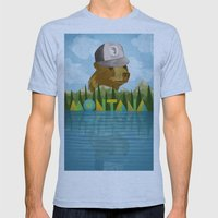 Montana Mens Fitted Tee Athletic Blue SMALL