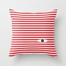 Peep Throw Pillow