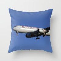 Air Canada Boeing 767 Throw Pillow