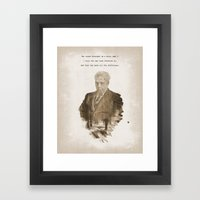The One Less Traveled By Framed Art Print