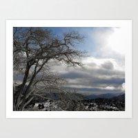 Winter in Spring Art Print