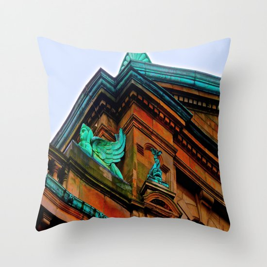 What's Your Angle? Throw Pillow