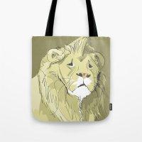 The Sad Lion Tote Bag