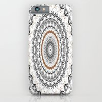 Black, Gold, And White iPhone 6 Slim Case