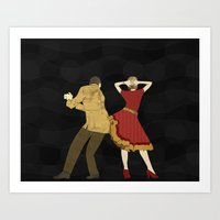 Free Style Dance Party Art Print