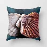 YOU and ME in Structures of Harmony  Throw Pillow