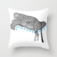 Going Wild  Throw Pillow