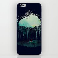 Deep in the forest iPhone & iPod Skin