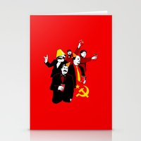 The Communist Party (var… Stationery Cards
