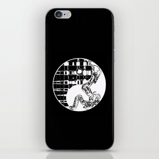 yin and yang iPhone & iPod Skin