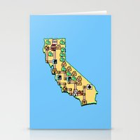 Super California Stationery Cards