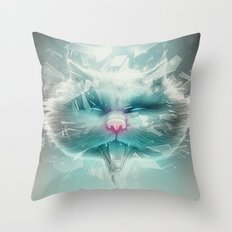 Baron Philip Von Glass Throw Pillow