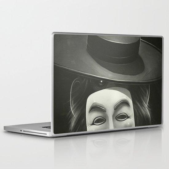 Anonymous II Laptop & iPad Skin