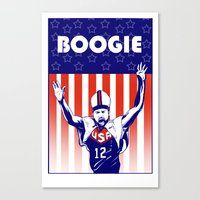 Pope Boogie Cousins USA Canvas Print