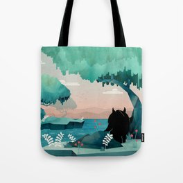 Tote Bag - The Journey - littleclyde