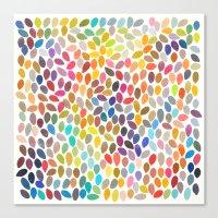 rain 17 Canvas Print