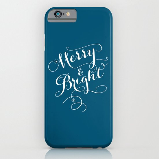Merry & Bright iPhone & iPod Case