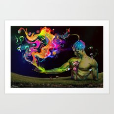 Alchemy Resonance Art Print