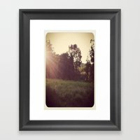 Grass  Framed Art Print