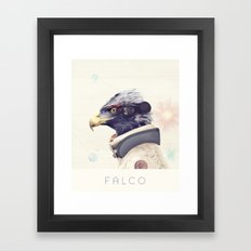 Star Team - Falco Framed Art Print