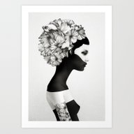 Art Print featuring Marianna by Ruben Ireland