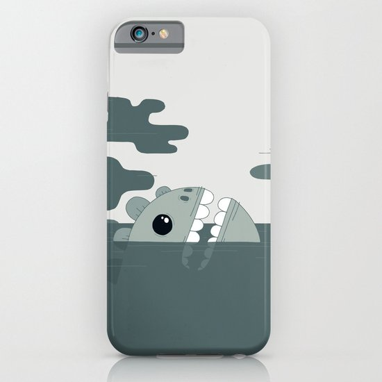 sea monster iPhone & iPod Case