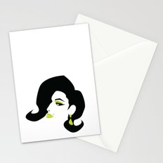 profile - green Stationery Cards