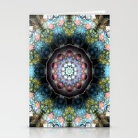Abstract 66 Stationery Cards