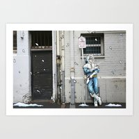 Living in the Material World: CAPTAIN COLD Art Print