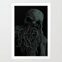 The Ache Art Print