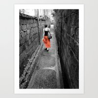 Damp Passage Art Print