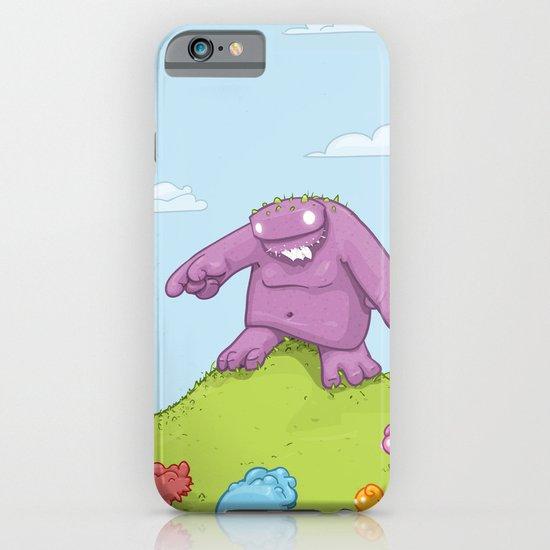 Marshmallow Hunting iPhone & iPod Case