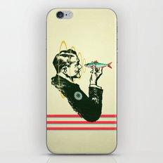 Hypnotic sardine  iPhone & iPod Skin