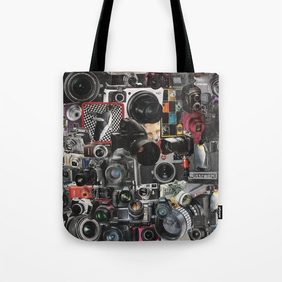 COLLAGE LOVE: How Do You See the World? Tote Bag