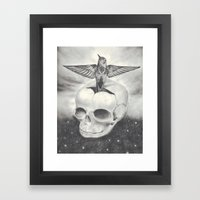 Born & Reborn Framed Art Print