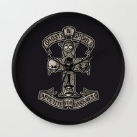 APPETITE FOR DARKNESS Wall Clock