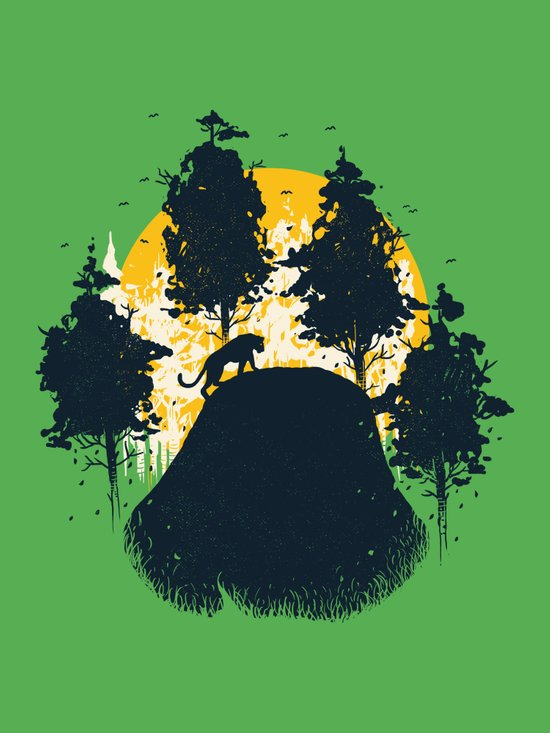 Wildlife Habitat Canvas Print