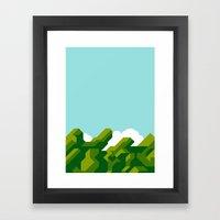 Super Mario World Framed Art Print