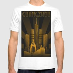 Guangzhou (China) SMALL White Mens Fitted Tee