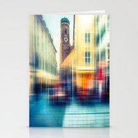Frauenkirche - Munich - … Stationery Cards