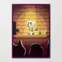 Pixel Art series 15 : Song Canvas Print